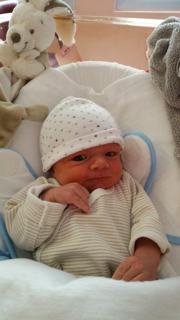 Hugo, né le 18 septembre 2014.