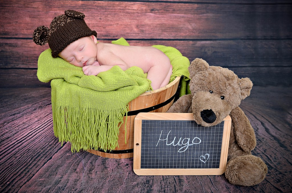 Hugo, né le 8 septembre 2014.