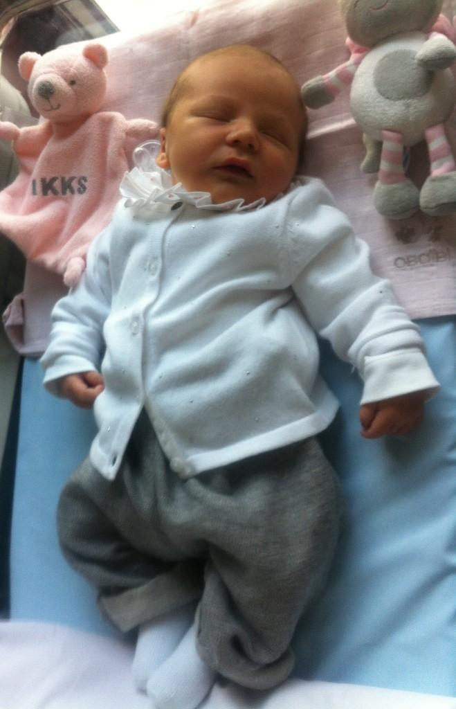Jeanne, née le 12 septembre 2014.