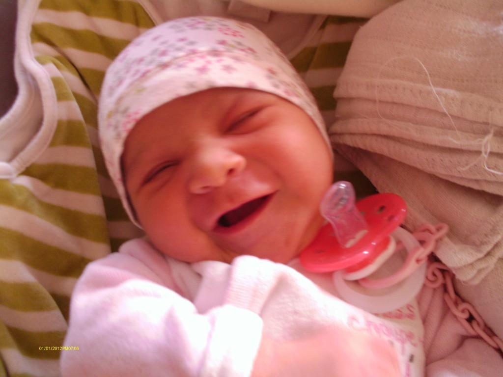 Marie Annabelle, née le 11 septembre 2014.