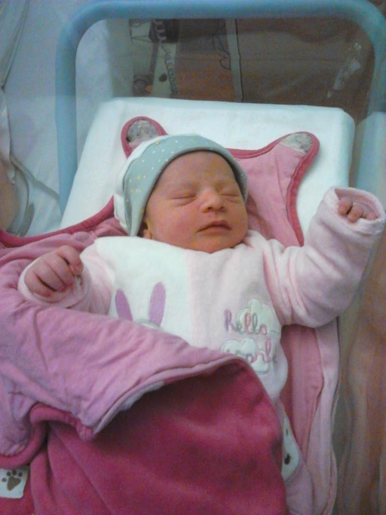 Anaëlle, née le 21 octobre 2014