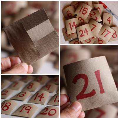 DIY calendrier de l avent 11