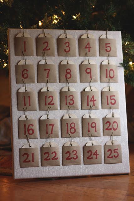 DIY calendrier de l avent 9
