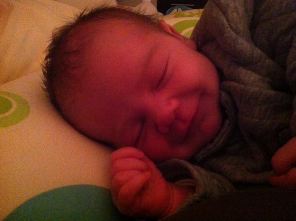 Léo, né le 8 octobre 2014