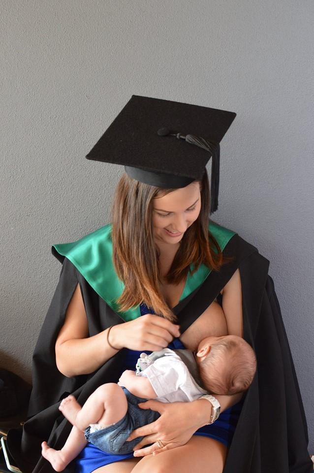 Maman et diplomee 1