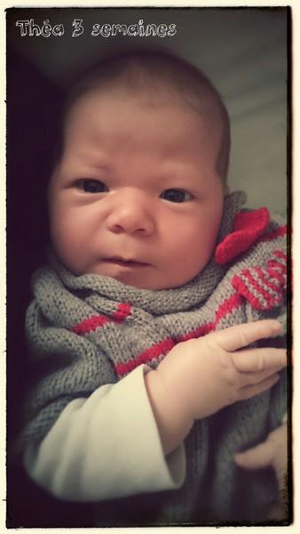 Théa, née le 11 octobre 2014