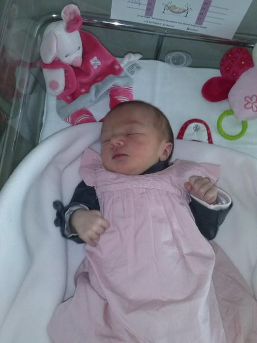 flavie, née le 5 octobre 2014
