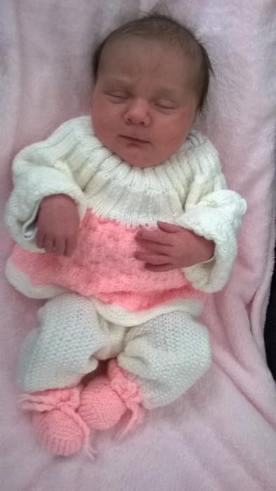 johanna, née le 19 octobre 2014