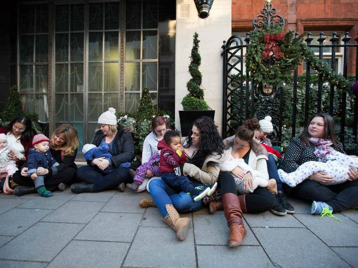 Mamans allaitantes Londres 2