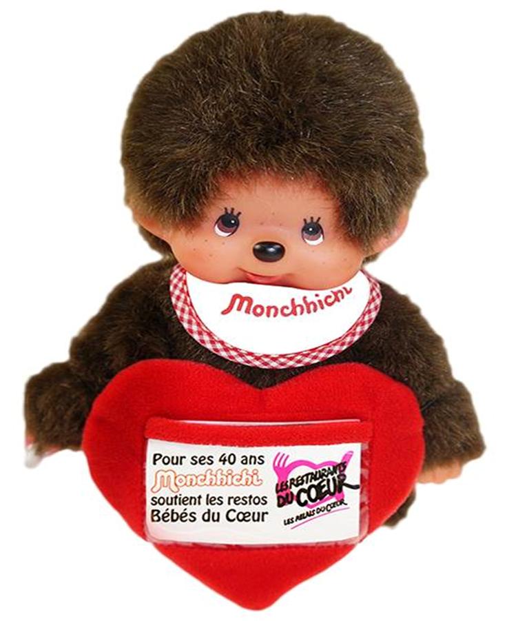 Monchhichi Restos Bebes du Coeur