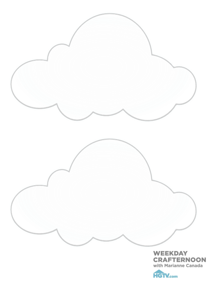 diy patron mobile nuage 1