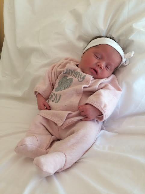 Alessia, né le 18 décembre 2014