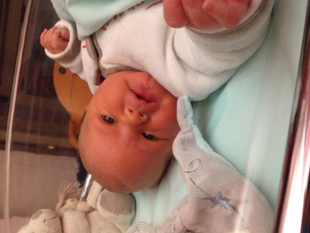 Adrien, né le 8 décembre 2014
