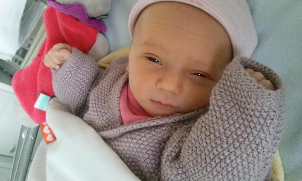 Cléa, née le 19 décembre 2014