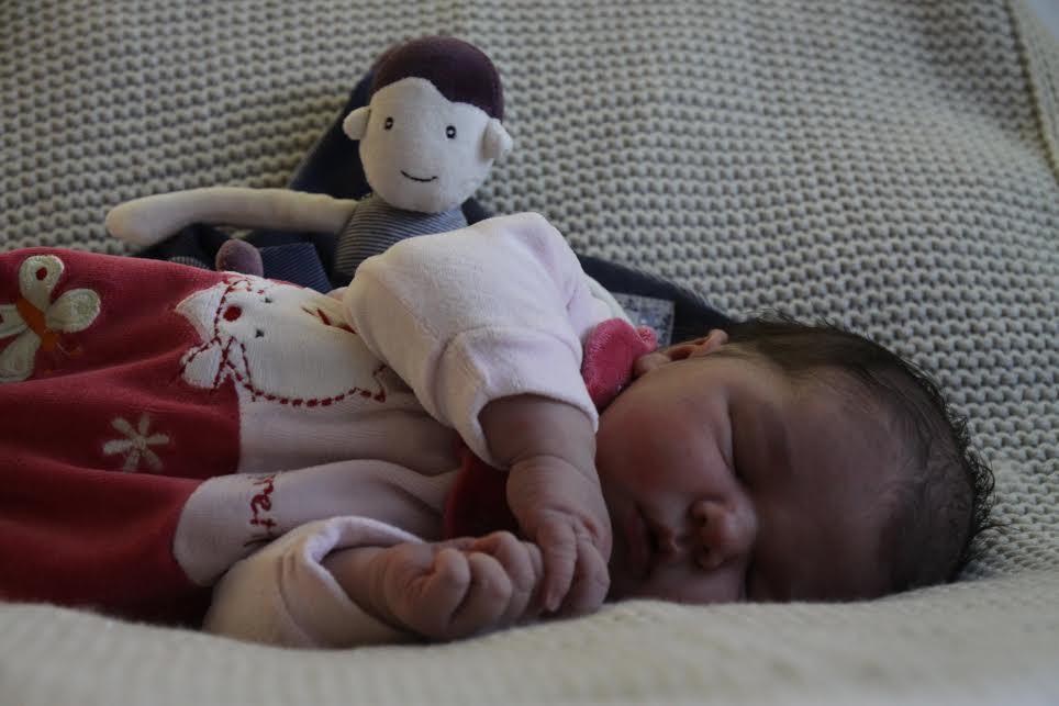 Giulia, née le 8 décembre 2014