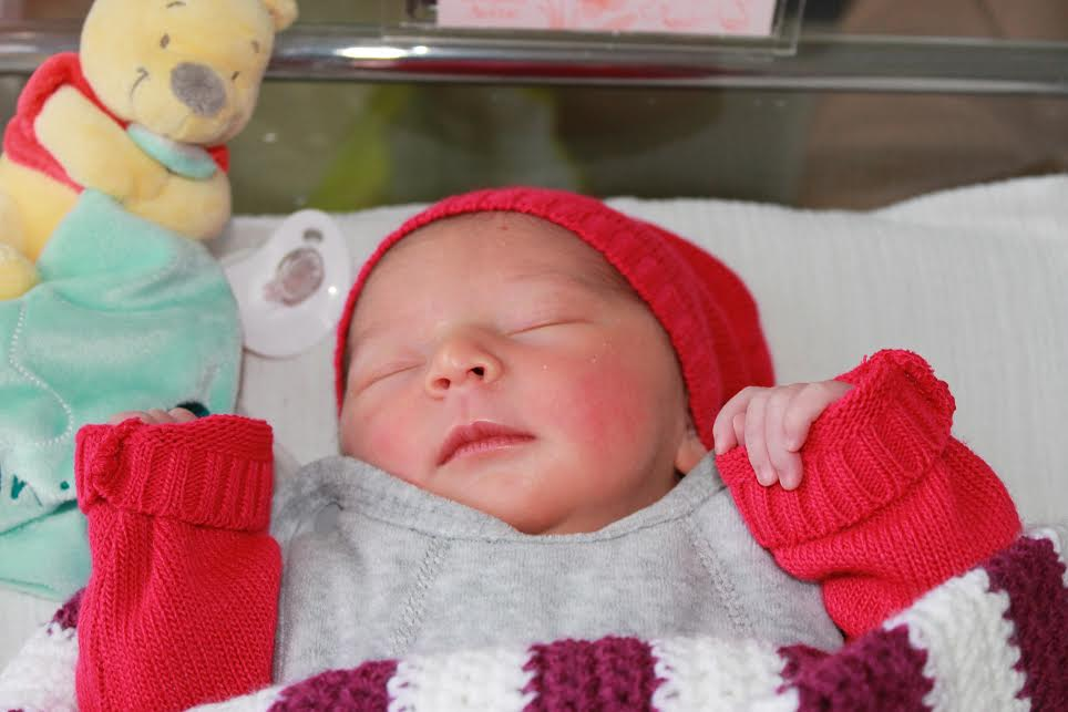 Juliette, née le 5 décembre 2014