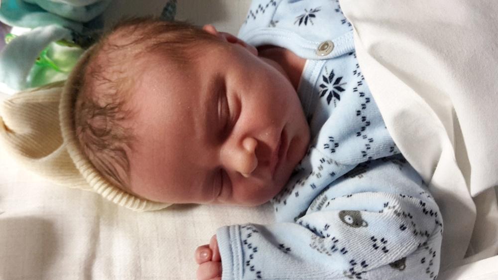 Léo, né le 19 décembre 2014