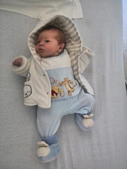 Liam, né le 18 décembre 2014