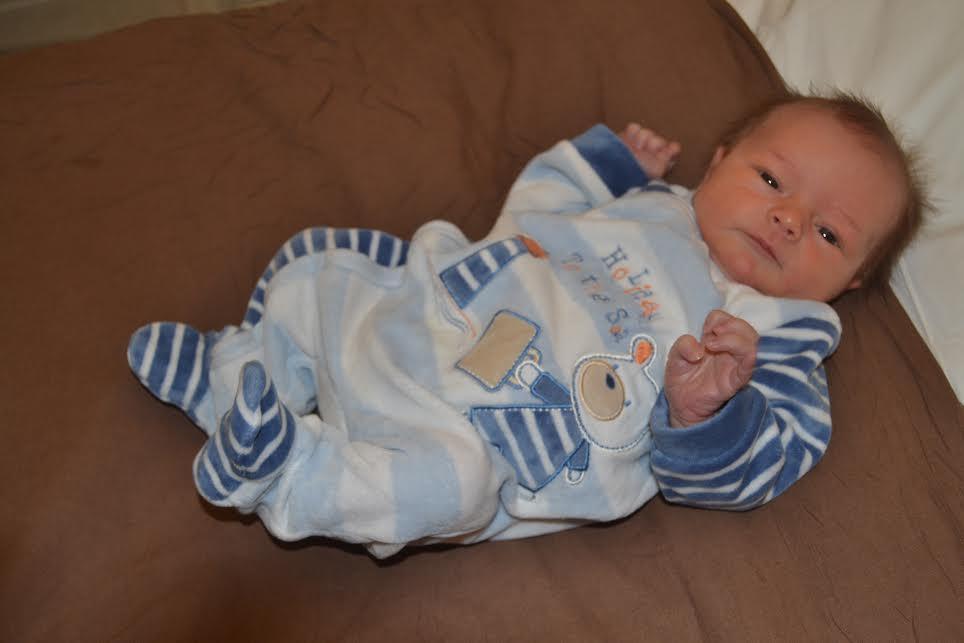Louis, né le 12 décembre 2014