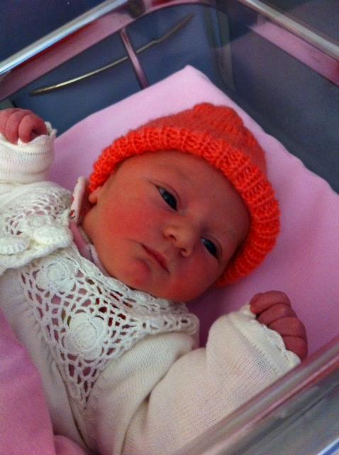 Soline, née le 23 décembre 2014