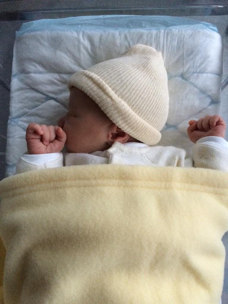 Alexandra, née le 14 décembre 2014