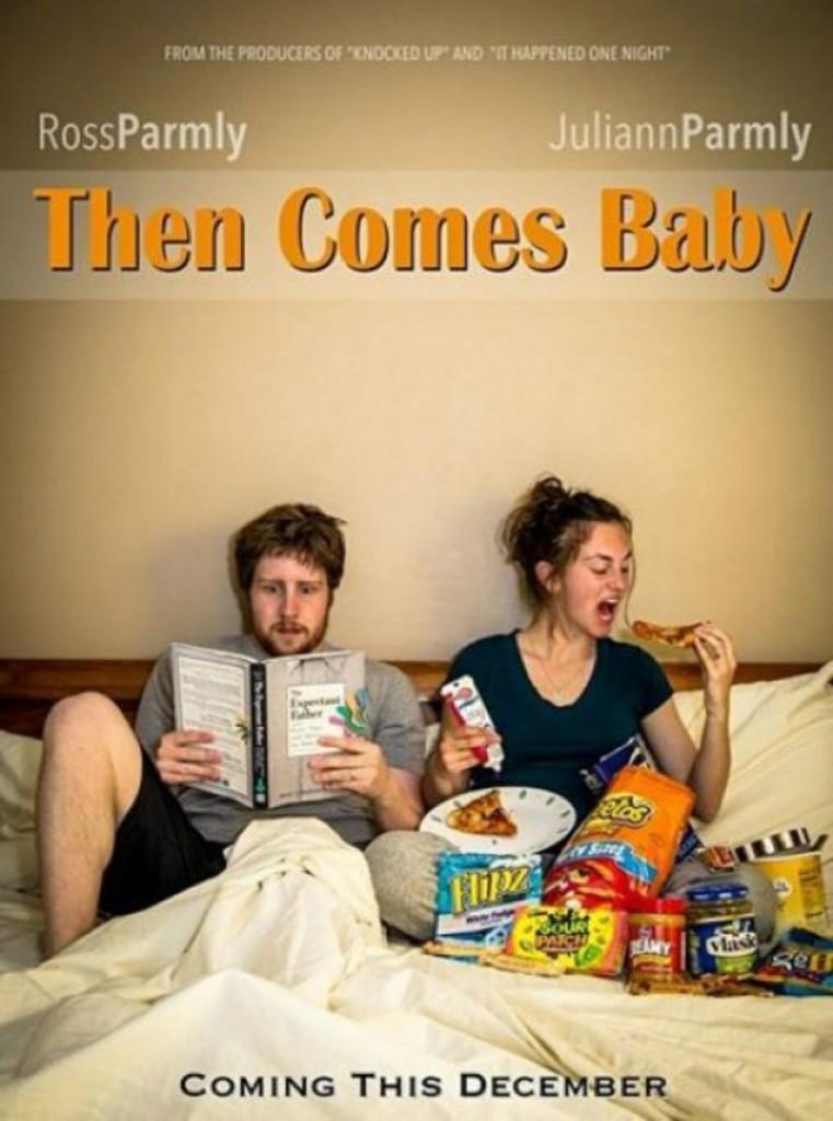 annonce de grossesse comme dans un film