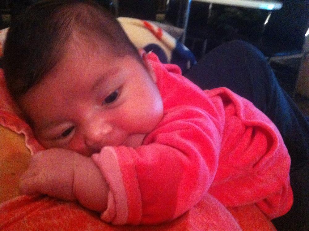 Lina, née le 6 décembre 2014