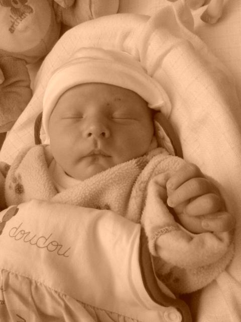 Maxime, né le 3 décembre 2014