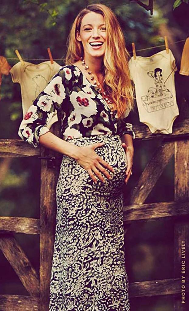 photo de blake lively enceinte