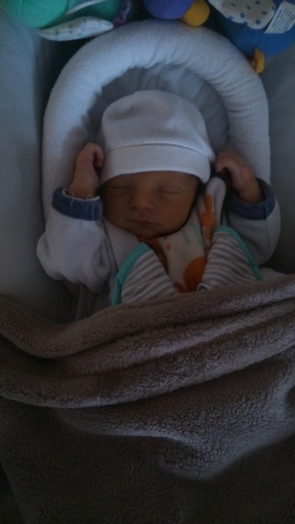 Raphaël, né le 24 décembre 2014