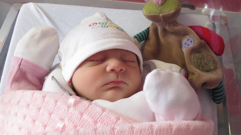Séléna, née le 10 décembre 2014