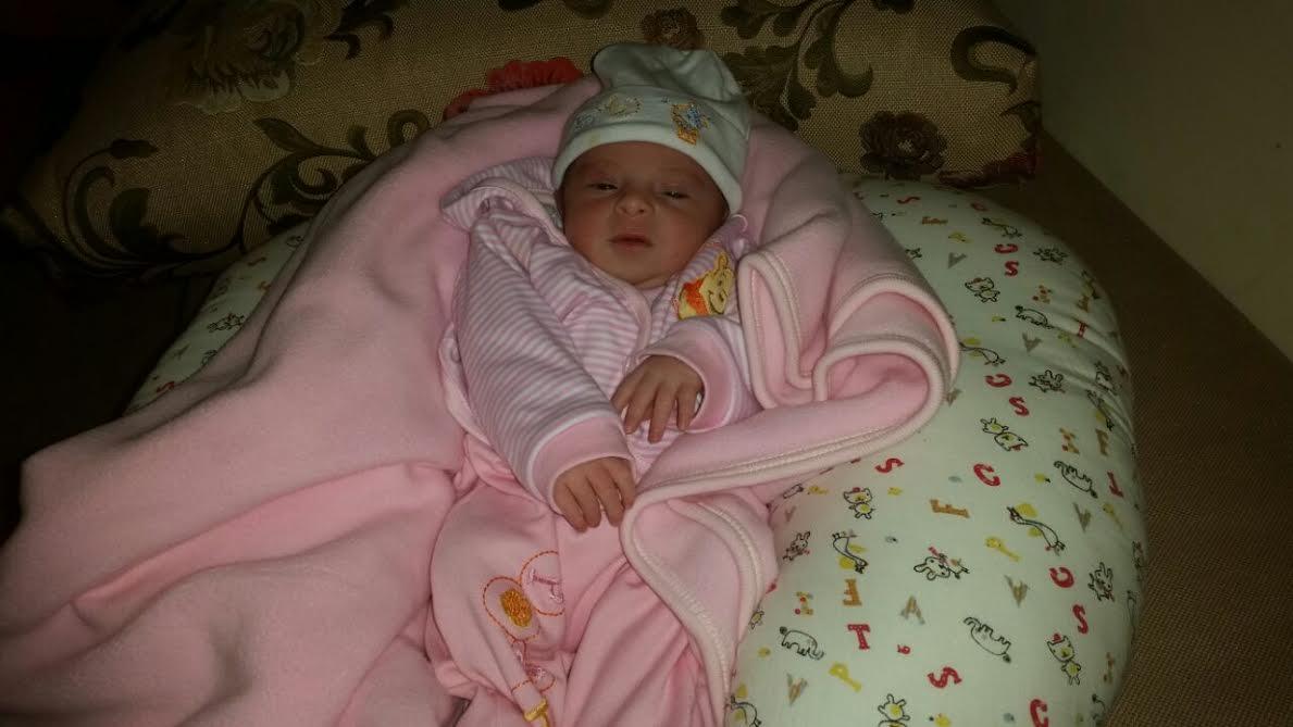 Amira Gabriela née le 11 Janvier 2015