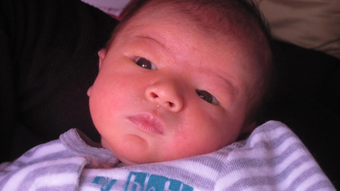 Eliott né le 18 janvier dernier.