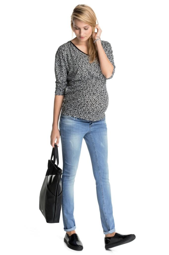 Jean stretch vintage ceinture de maintien Esprit