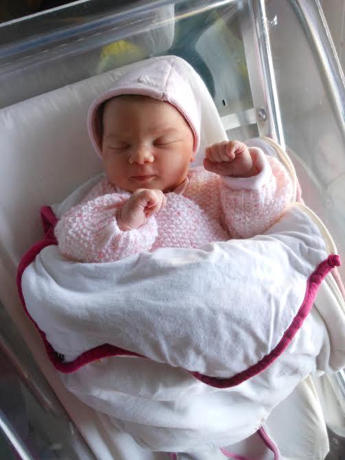 Keira née le 2 janvier 2015