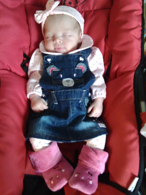 Louise née le 5janvier a 13h38