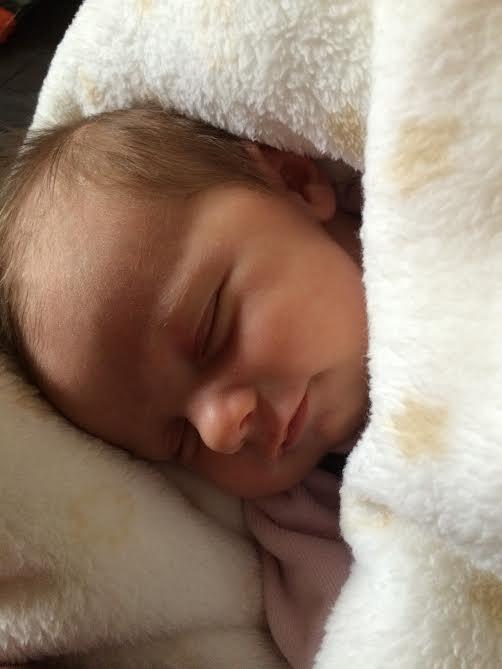Méryl, elle est née le 7 janvier 2015