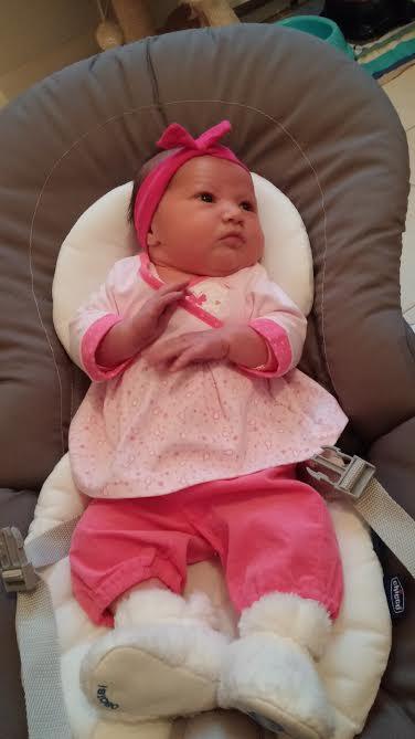 giulia qui est née le 16 janvier