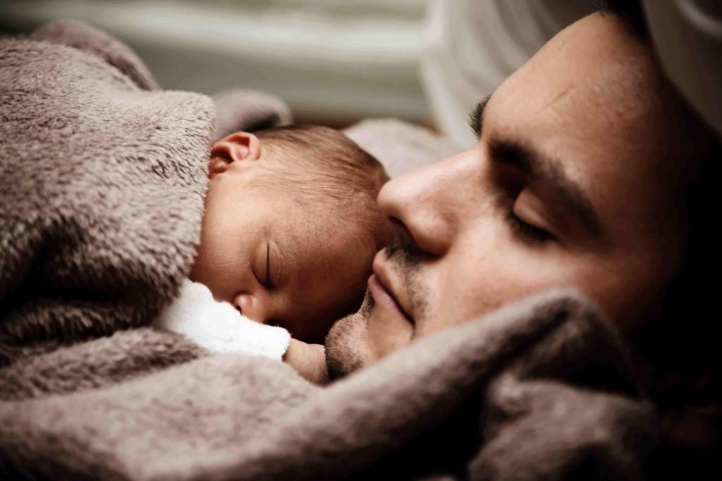papa et bebe