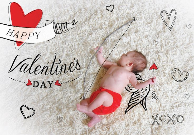 saint valentin bebe neuf mois