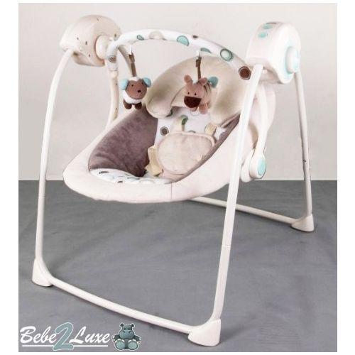 la balancelle lectrique swing lilou jump de b b 2luxe 89. Black Bedroom Furniture Sets. Home Design Ideas