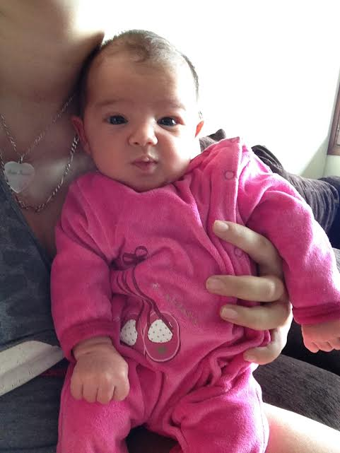 Emilia, nee le 9 fevrier 2015