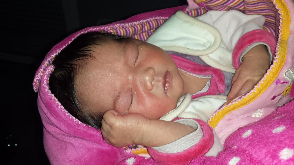 Lena nee le 12 fevrier 2015