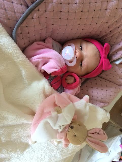 Louise nee le 16 fevrier 2015
