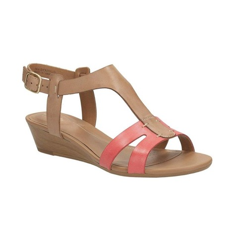 Sandales compensees Playful Game cuir Clarks La Redoute
