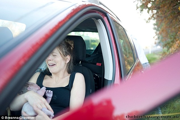 accouchement sur la route