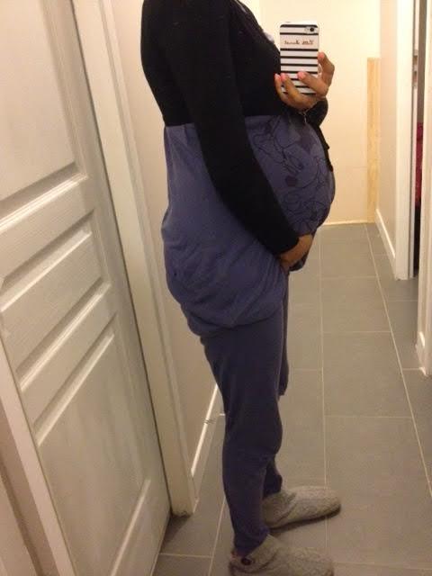 baby bump  laetitia 2