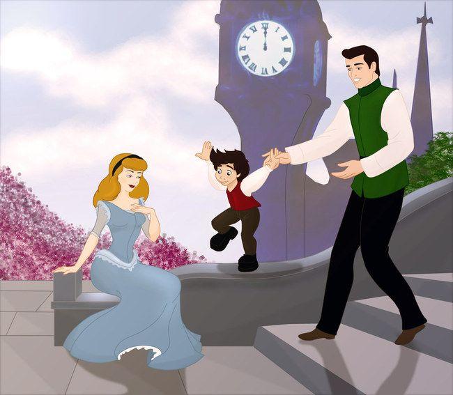 cendrillon son prince et son enfant