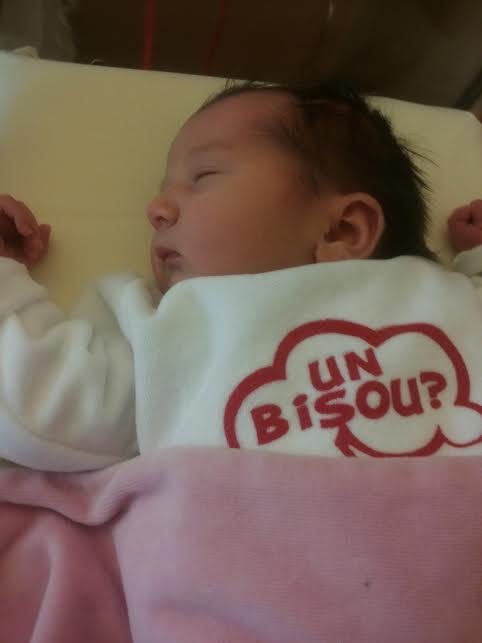 Julia, née le 14 mars