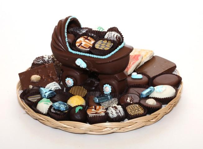 annoncer ta grossesse en chocolat